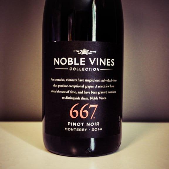 Noble Vines 667 - Pinot Noir