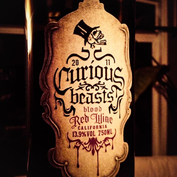 Curious Beasts - Blood Red Wine