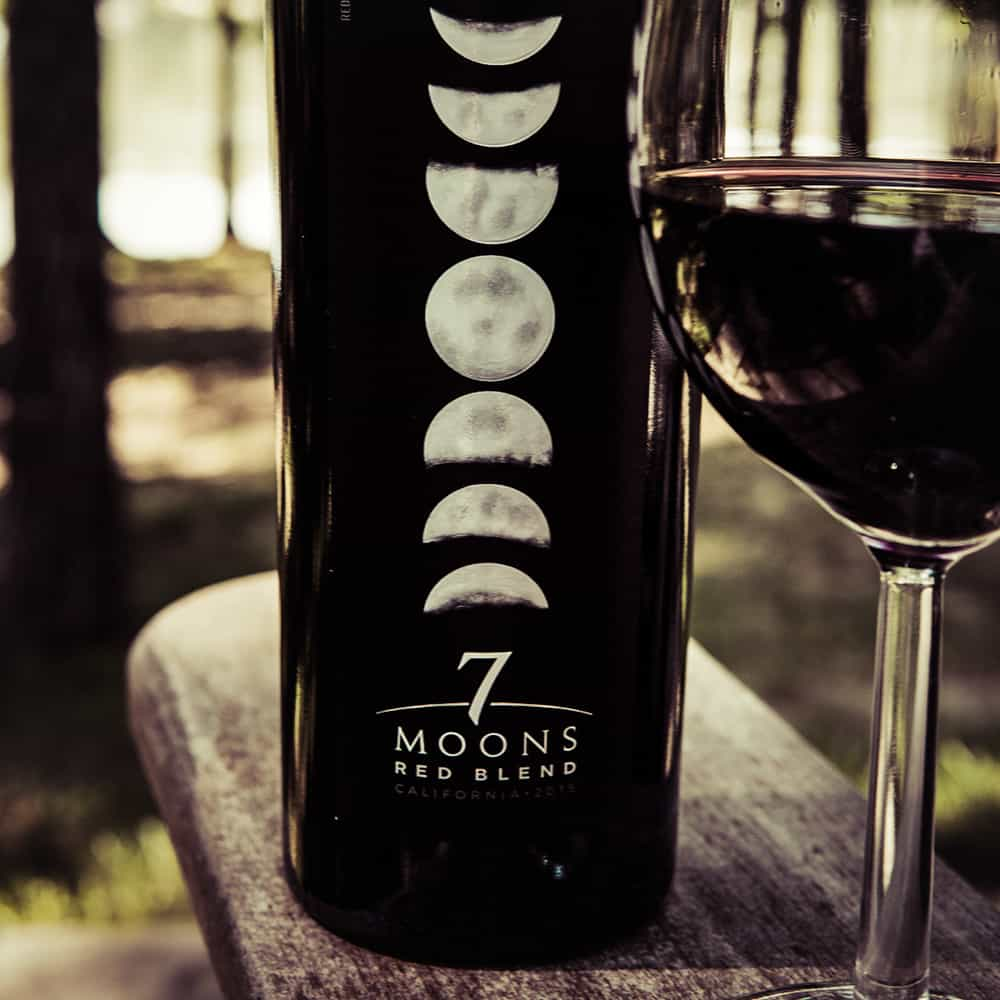 seven-moons-red-blend-2016- Gothic wine