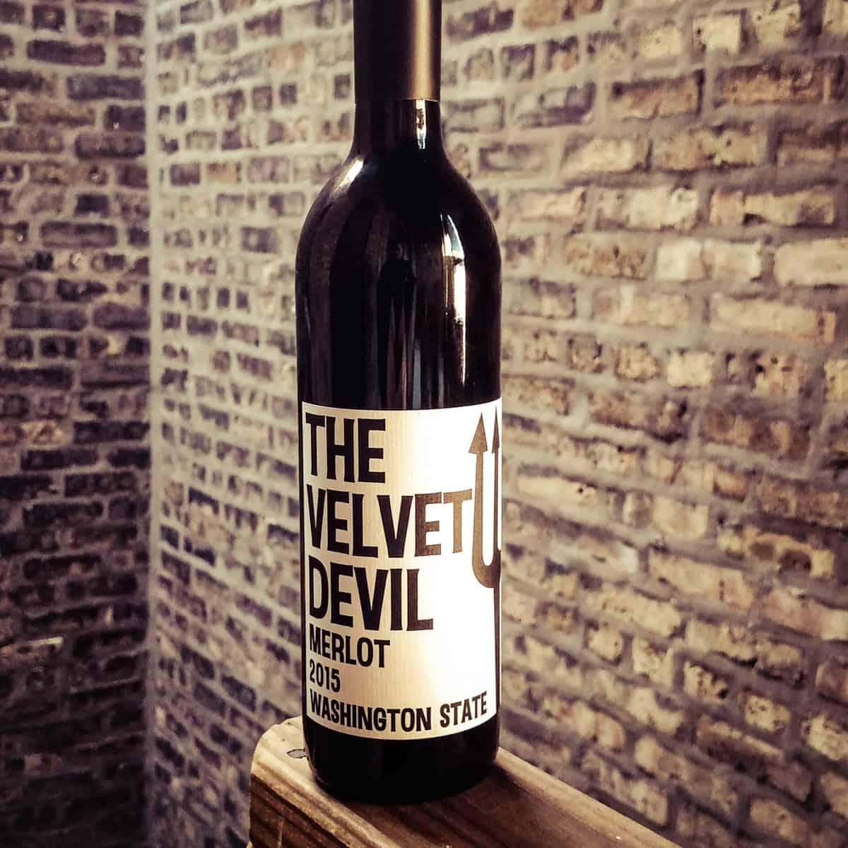 The Velvet Devil, Merlot - Washington State